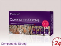 Aquaforest Components Strong 4x50ml | Zawiera skoncentrowane mikroelementy