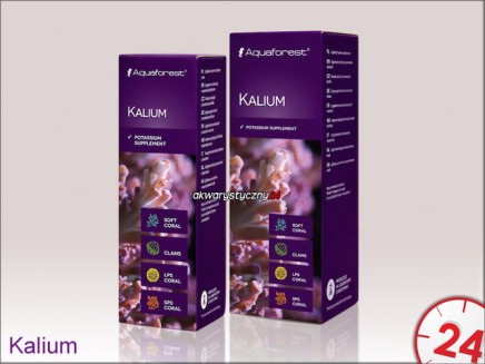 Aquaforest Kalium 10ml | Suplement zawiera stężony potas