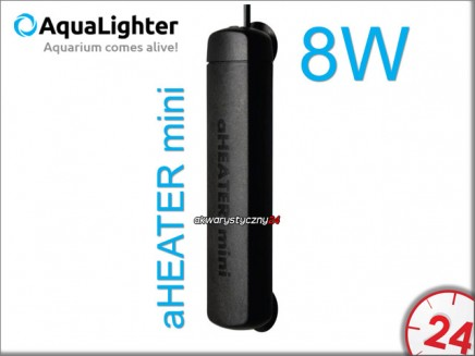AQUALIGHTER aHEATER mini 8W | Grzałka do nano akwarium do 15L