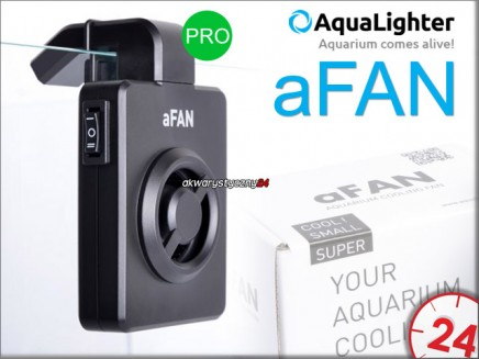 AQUALIGHTER aFAN PRO | Wentylator z termostatem do akwarium do 100L