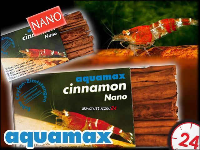 AQUAMAX CYNAMON NANO - Naturalny i wysokiej prosto ze Sri Lanki