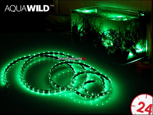 AQUAWILD Moon-Led Zielony [1m] | Oświetlenie nocne do akwarium, najwyższa jakość.