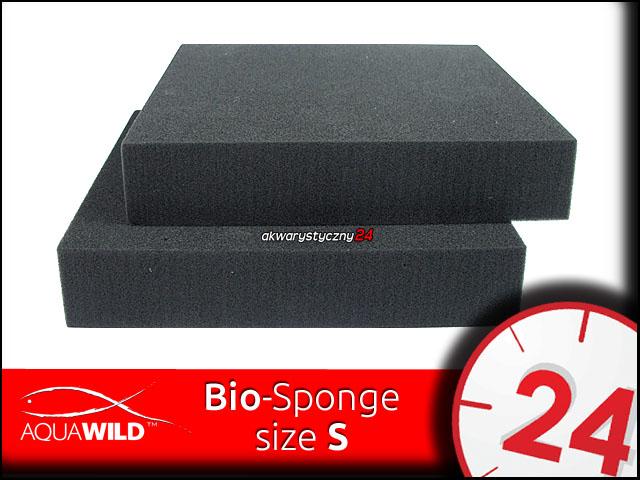 AQUAWILD Bio-Sponge [S] 25x25x5cm - Drobna gąbka filtracyjna o o perfekcyjnej przepuszczalnej strukturze.
