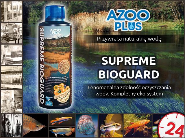 AZOO PLUS Supreme Bioguard 250ml - Doskonały i kompletny ekosystem w 1 butelce.