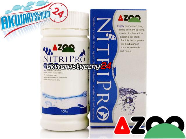 AZOO NITRIPRO 100g - Wyspecjalizowane, wydajne bakterie w proszku o szerokim spektrum działania.