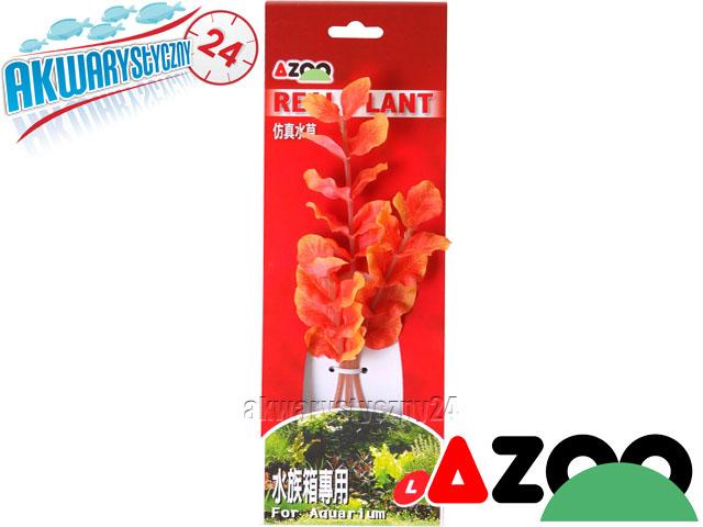 AZOO ROTALA MACRANDRA RED L (21cm) - Roślina sztuczna z tkanymi liśćmi (AZ98017)