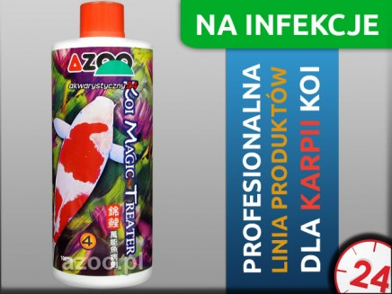 AZOO KOI MAGIC TREATER 1L - Preparat do walki z chorobami i patogenami