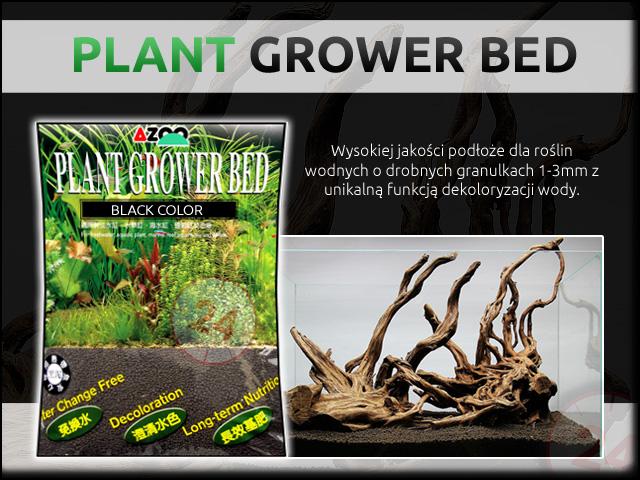 AZOO PLANT GROWER BED [Czarne] [6L] | Podłoże do akwarium roślinnego