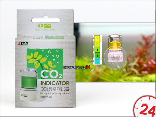 AZOO CO2 INDICATOR | Estetyczny wskaźnik/test CO2