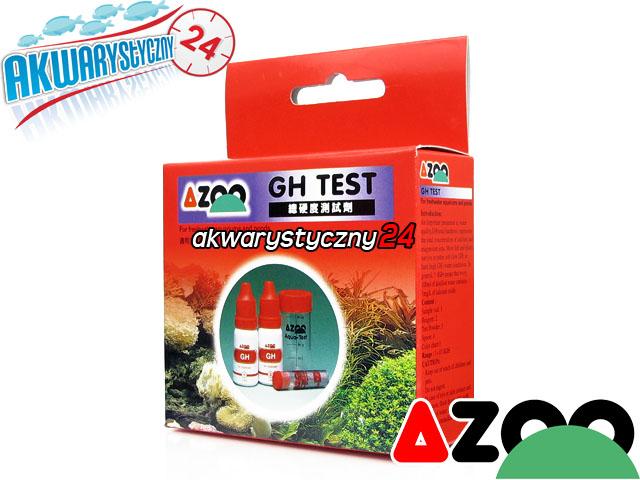 AZOO GH TEST - Test twardości ogólnej (GH) do akwarium słodkowodnego i morskiego