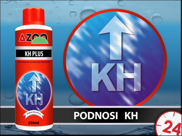 AZOO KH PLUS 120ml - Bezpieczny preparat do podwyższania KH w akwarium