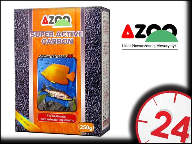 AZOO SUPER ACTIVE CARBON 250g - Długo działający węgiel aktywny do akwarium
