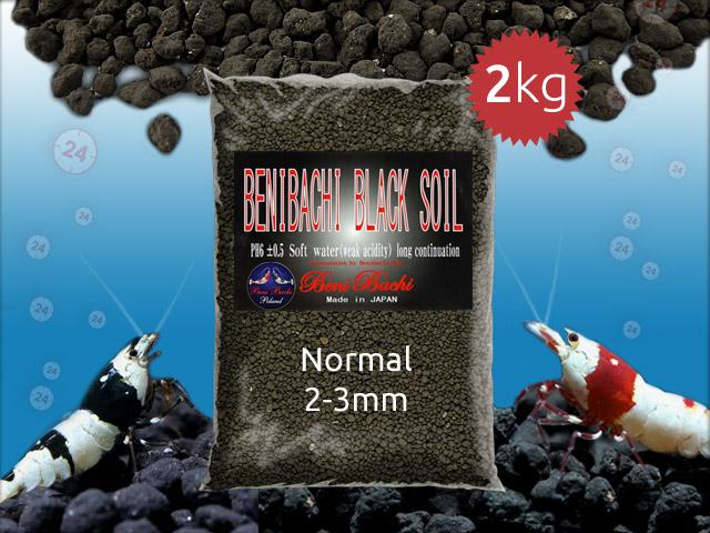 BENIBACHI Black Soil 2kg [Normal] | Japońskie podłoże dla wysokich klas krewetek