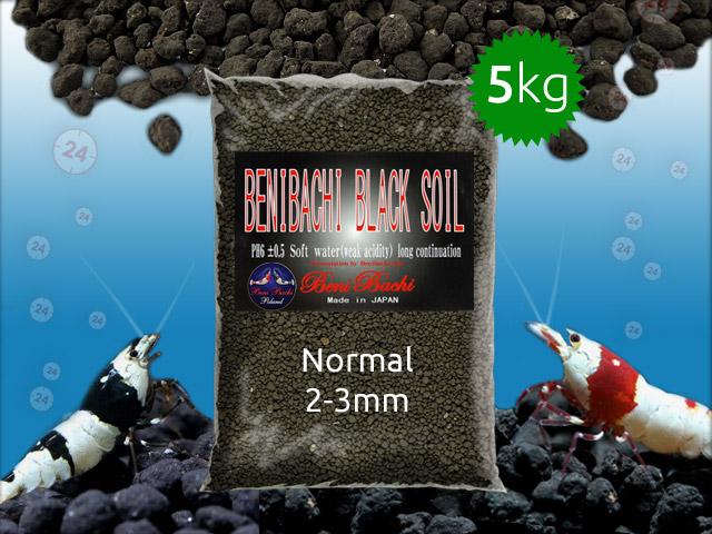 BENIBACHI Black Soil 5kg [Normal] | Japońskie podłoże dla wysokich klas krewetek
