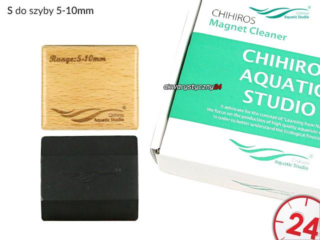 CHIHIROS Magnet Cleaner S | Czyścik magnetyczny do szyby 5-10mm