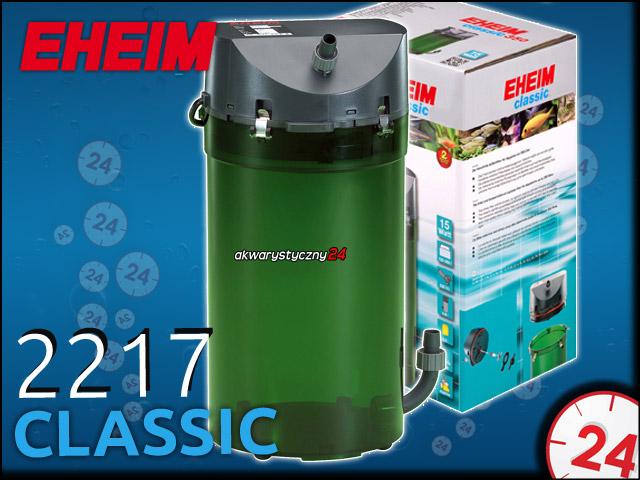 EHEIM CLASSIC 2217 2217020 | Filtr zewnętrzny do akwarium 180-600l