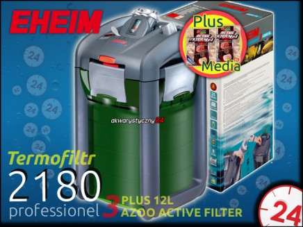 EHEIM PROFESSIONEL 3 2180 + 12L AZOO ACTIVE FILTER 4in1