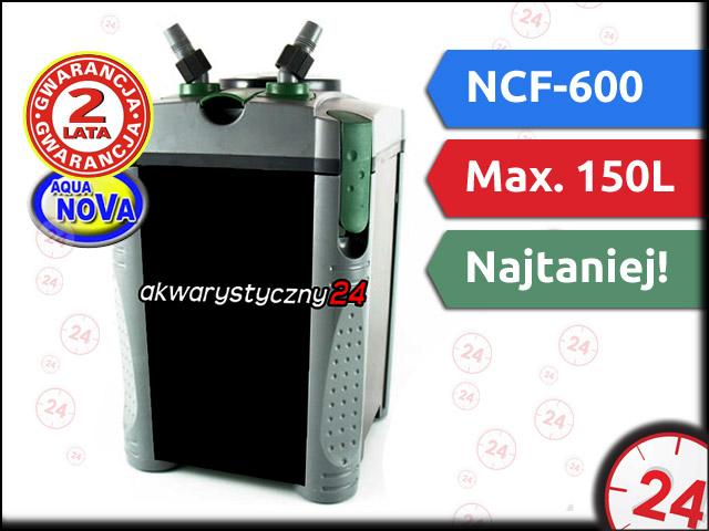 AQUA NOVA NCF-600 | Filtr zewn�trzny do akwarium maks. 112l