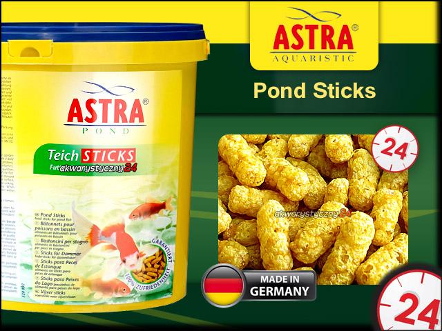 ASTRA POND STICKS 3L | Pokarm w pałeczkach dla ryb stawowych