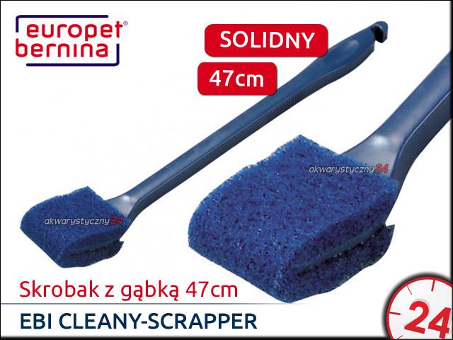 EBI CLEANY-SCRAPPER Skrobak z gąbką 47cm [212-102268] | Solidny czyścik na długie rączce