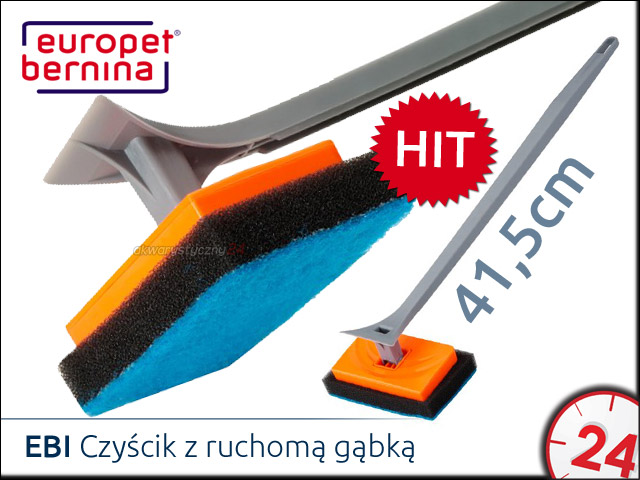 EBI Czyścik z ruchomą końcówką z gąbki 41,5cm [212-419809]
