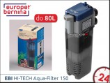 EBI HI-TECH Aqua-Filter 150 [261-111154] | Filtr wewn�trzny do akwarium 40-80L