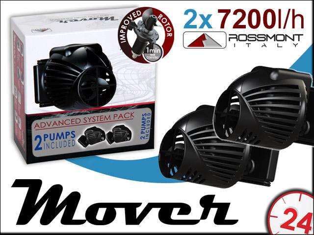 Rossmont MOVER 2xM7200 (Dwupak) | Komplet dwóch najmniejszych pomp cyrkulacyjnych w swojej klasie