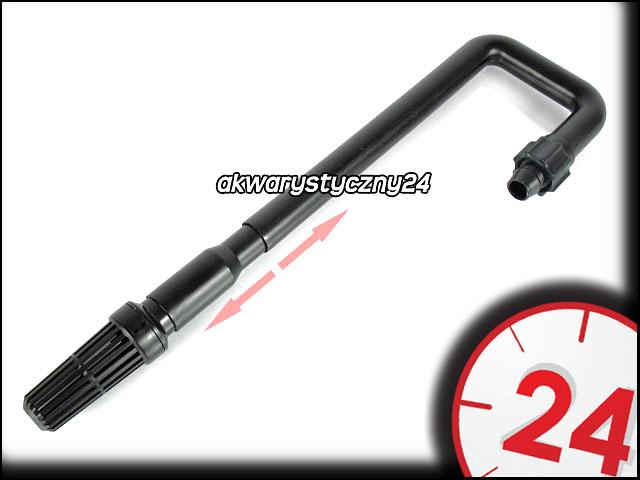 JBL INSET 16/22 mm - Kompletny wlot filtra z regulacją długości