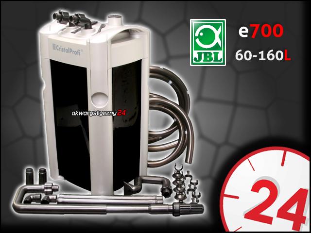 JBL CRISTALPROFI e700 | Filtr zewnętrzny do akwarium 160l