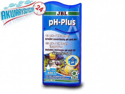 JBL pH+PLUS 100ml - Podwyższa pH/KH