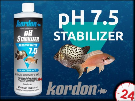 KORDON pH STABILIZER 7.5 118ml | Stabilizuje pH na poziomie 7,5