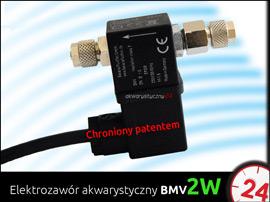 600N - Zestaw Co2 bez butli z elektrozaworem BMV