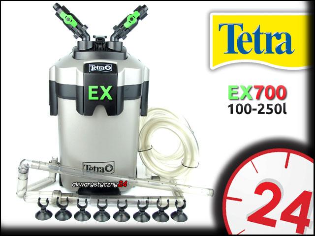 TETRA EX 700 - Filtr zewn�trzny do akwarium 100-250l