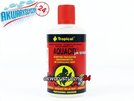 TROPICAL AQUACID PH MINUS 500ml - Preparat do obniżania pH wody