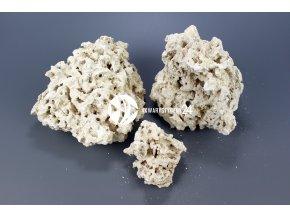 MARCO ROCKS Skała koralowa - Naturalna, sucha skała do akwarium rafowego, morskiego i słodkowodnego.
