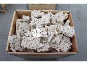 MARCO ROCKS Skała koralowa cięta - Naturalna, sucha skała do akwarium rafowego, morskiego i słodkowodnego.