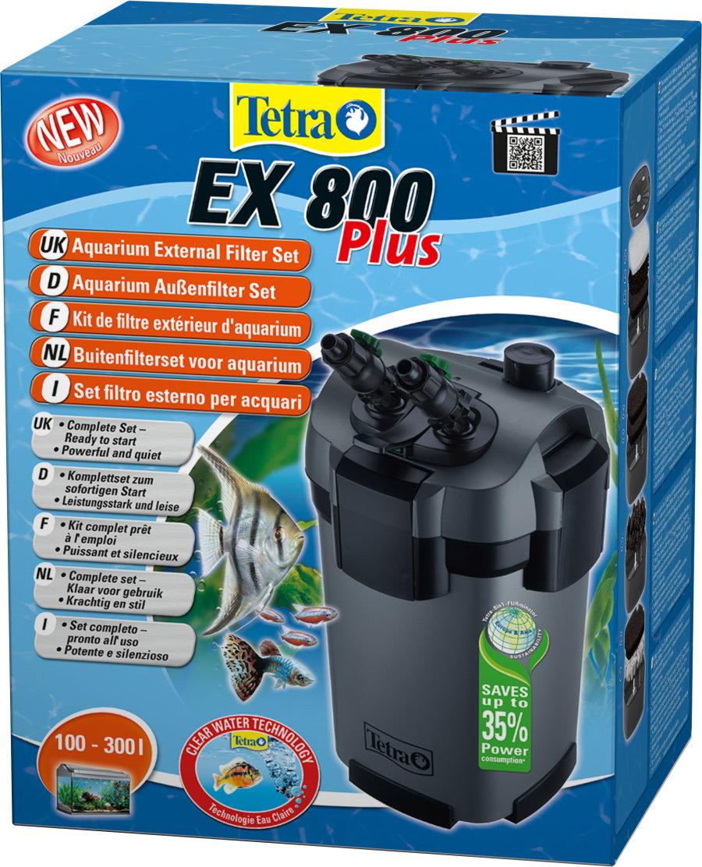 TETRA EX 800 plus - Filtr zewnętrzny do akwarium 100-250l