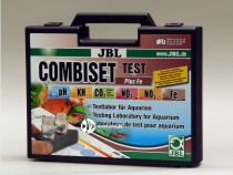 JBL Test Combi Set + Fe - Walizka do testowania pH, Kh, Fe, NO2, NO3