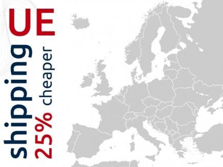 UE shipping 25% cheaper!