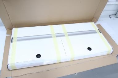 Pokrywa aluminiowa na akwarium 130x60cm biala, 4x30W LED 6500K