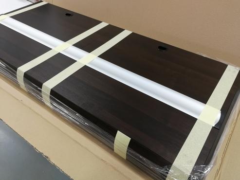 Pokrywa na wymiar 140x60cm LED 1x36W, kolor wenge