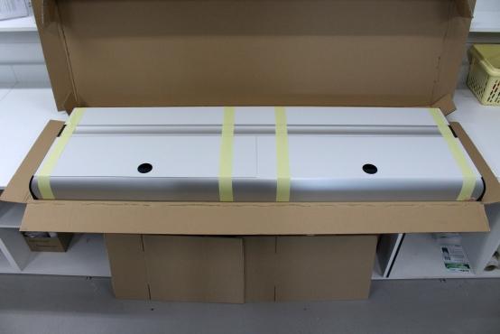 Pokrywa na akwarium 170x50cm, kolor aluminium