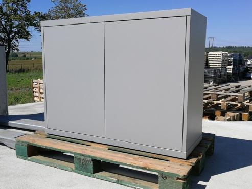 Szafka akwariowa 103x40x80cm, Szara platyna Mat