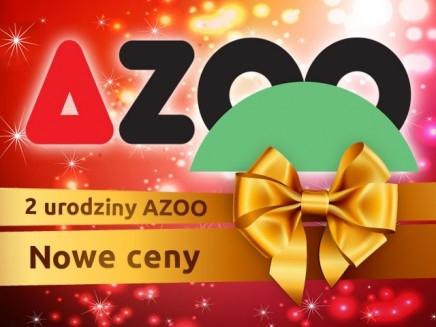 2 URODZINY AZOO - Nowe ceny i Promocje