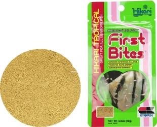 HIKARI First Bites 10g (20095) - Wolno tonący pokarm dla narybku ryb tropikalnych