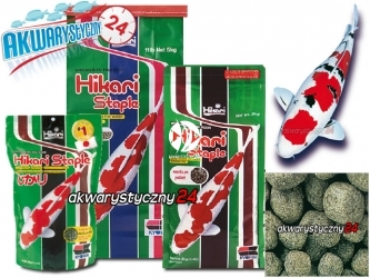 HIKARI STAPLE (01242) - Wysokiej jakości pokarm dla wszystkich ryb w stawie