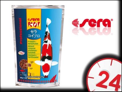 SERA KOI PROFESSIONAL Wiosna/Jesień 1kg - Wiosenno-jesienny pokarm dla karpii koi