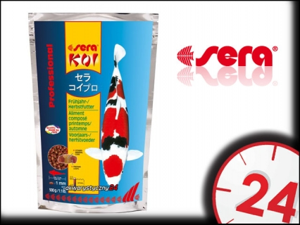 SERA KOI PROFESSIONAL Wiosna/Jesień 2,2kg - Wiosenno-jesienny pokarm dla karpii koi