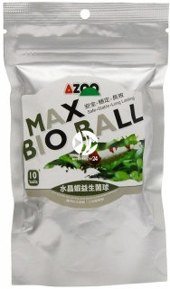 AZOO Max Bio Ball (AZ40021) - Pożyteczne bakterie rozkładające trujące związki azotu w krewetkarium