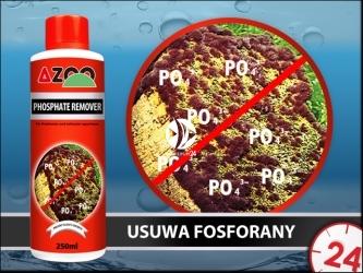 AZOO PHOSPHATE REMOVER - Szybko usuwa fosforany (PO4) w akwarium słodkowodnym i morskim